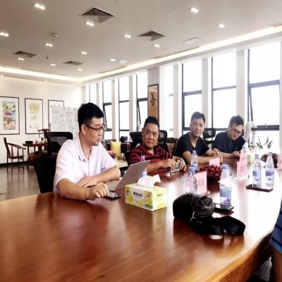 热烈欢迎东莞市信息学校莅临我司开展调研工作